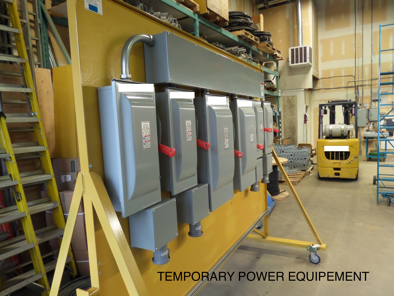 Temporary Mobile Power Equipment 400A Distribution Panels Sub A 400 ...