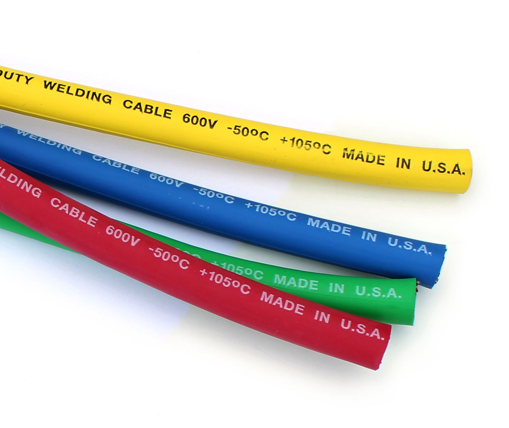 inetparts.com, Welding Cable Wire in Yellow Blue Orange Green Black ...